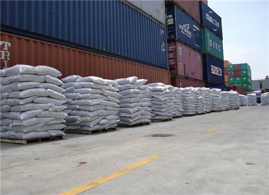 济南市8吨微硅粉发货中